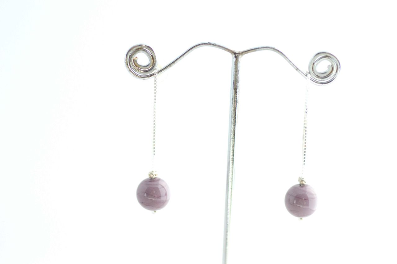"Boucles d'oreilles collection "" Ma Perle"""